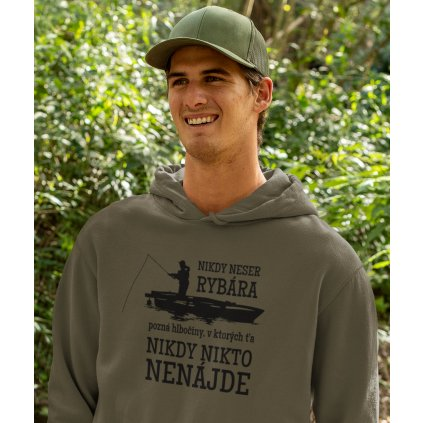 mockup of a happy man wearing a hoodie in the woods 32227 (5a)