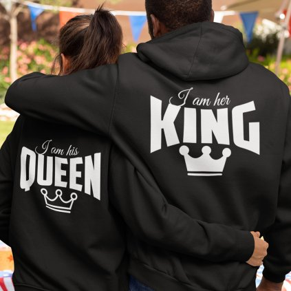 mikiny king queen 2