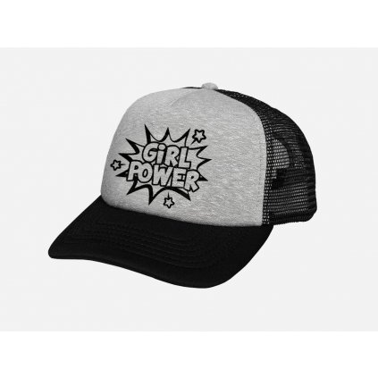 Šiltovka GirlPower Trucker Grey