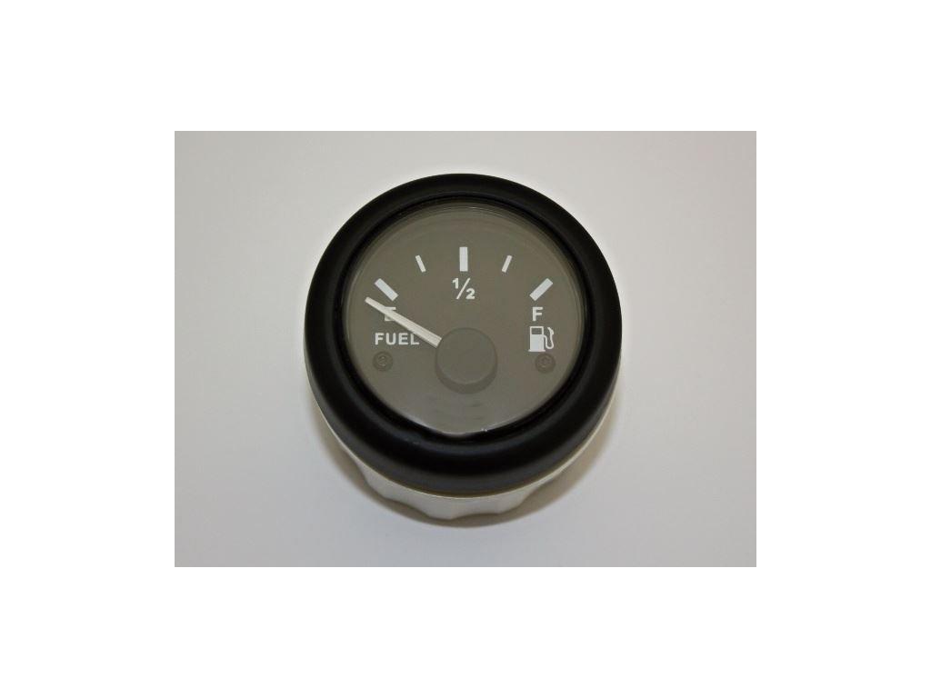 Palivoměr 52 mm 12V 0-180 Ohm