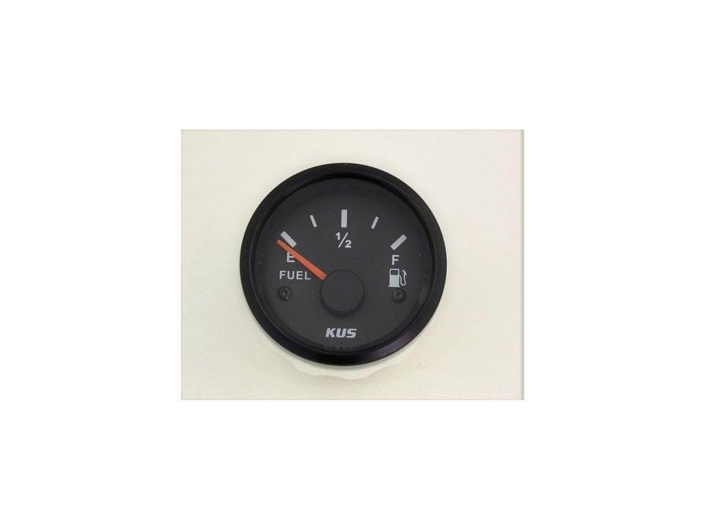 Palivoměr 52 mm 12V 0-190Ohm