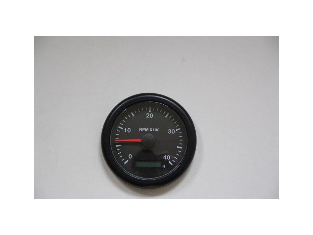 Otáčkoměr a motohodiny  85 mm, 4000 RPM