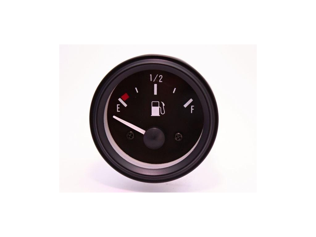 Palivoměr 52 mm 24V 0-180 Ohm