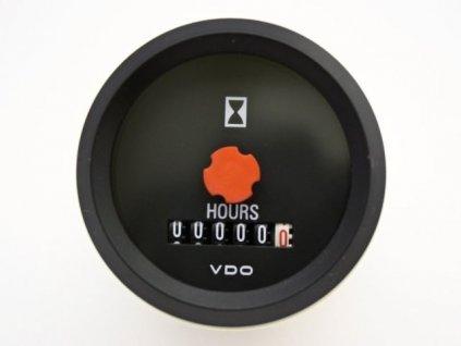 Počítač motohodin 52mm 12VDC