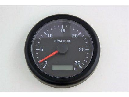 Otáčkoměr a motohodiny  85 mm, 3000 RPM