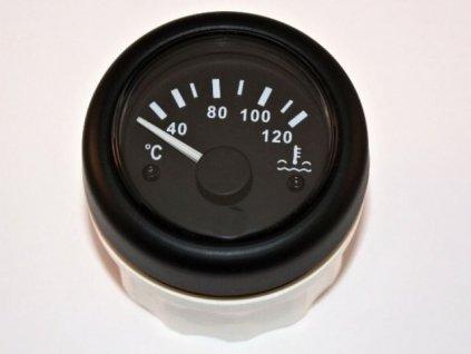 Teploměr motoru 52 mm 12-24V 120°C