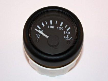 Teploměr olej 52 mm 12-24V 150°C