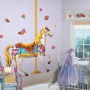Samolepky na zeď - Koně