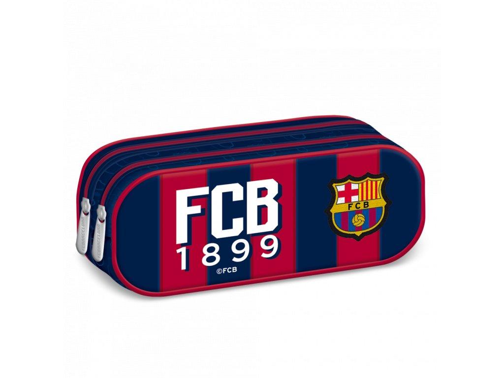 Penál FC Barcelona oválný double