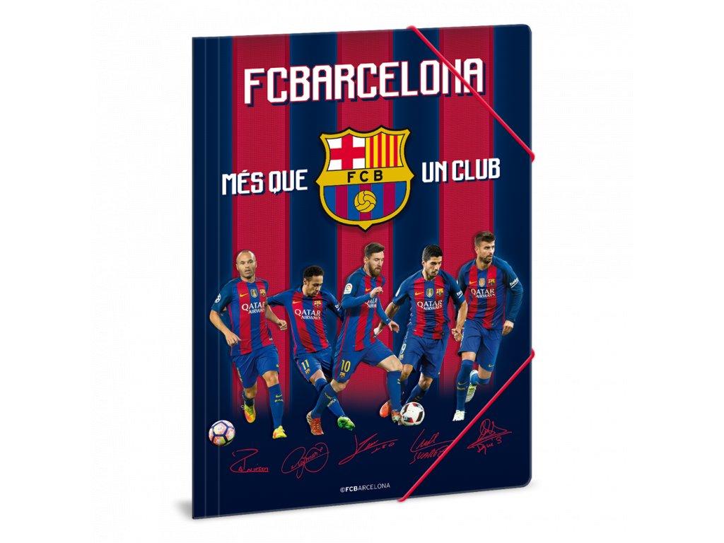Složka na sešity FC Barcelona hráči A4