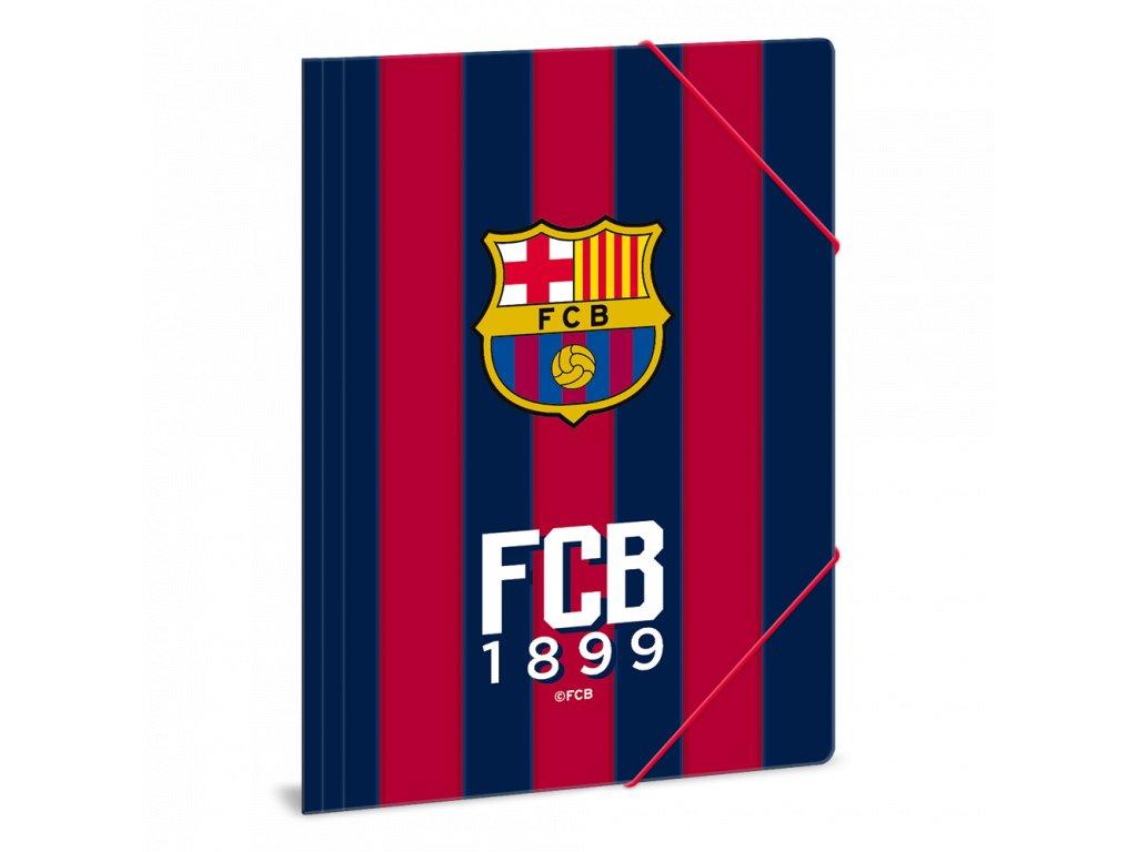 Složka na sešity FC Barcelony pruhy A4