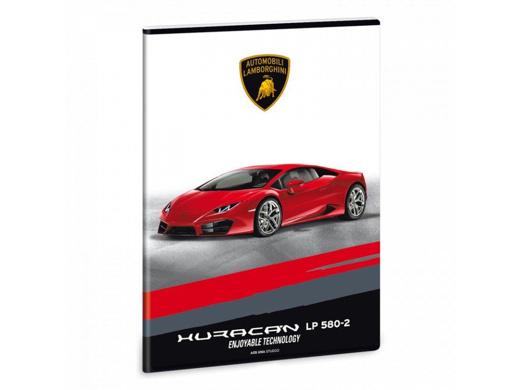 Sešit Lamborghini Huracán LP580 A4 linkovaný