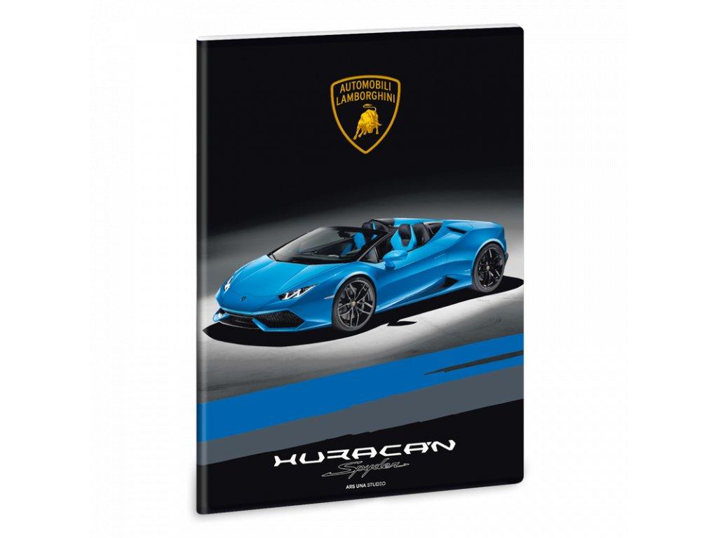 Sešit Lamborghini Huracán Spyder A4 linkovaný