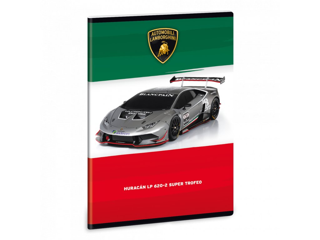 Sešit Lamborghini Huracán LP620 A5 linkovaný