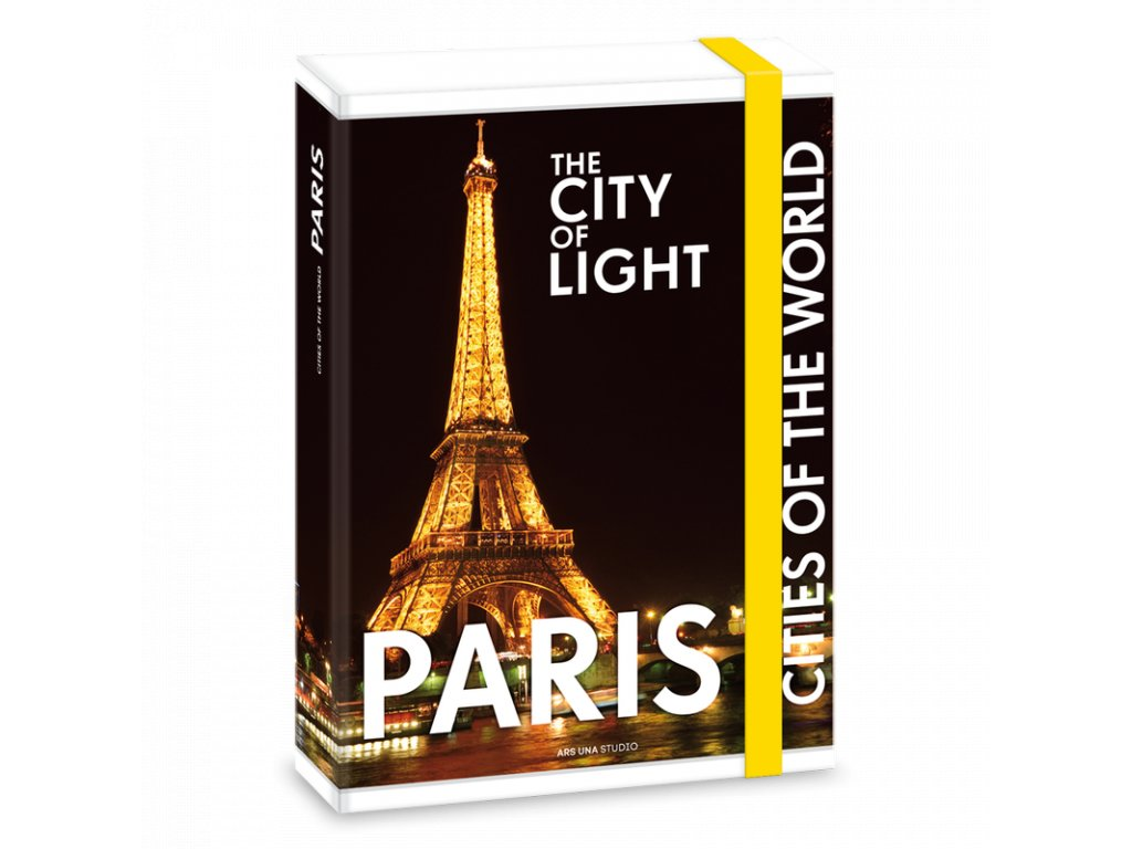 Box na sešity Paříž v noci A5