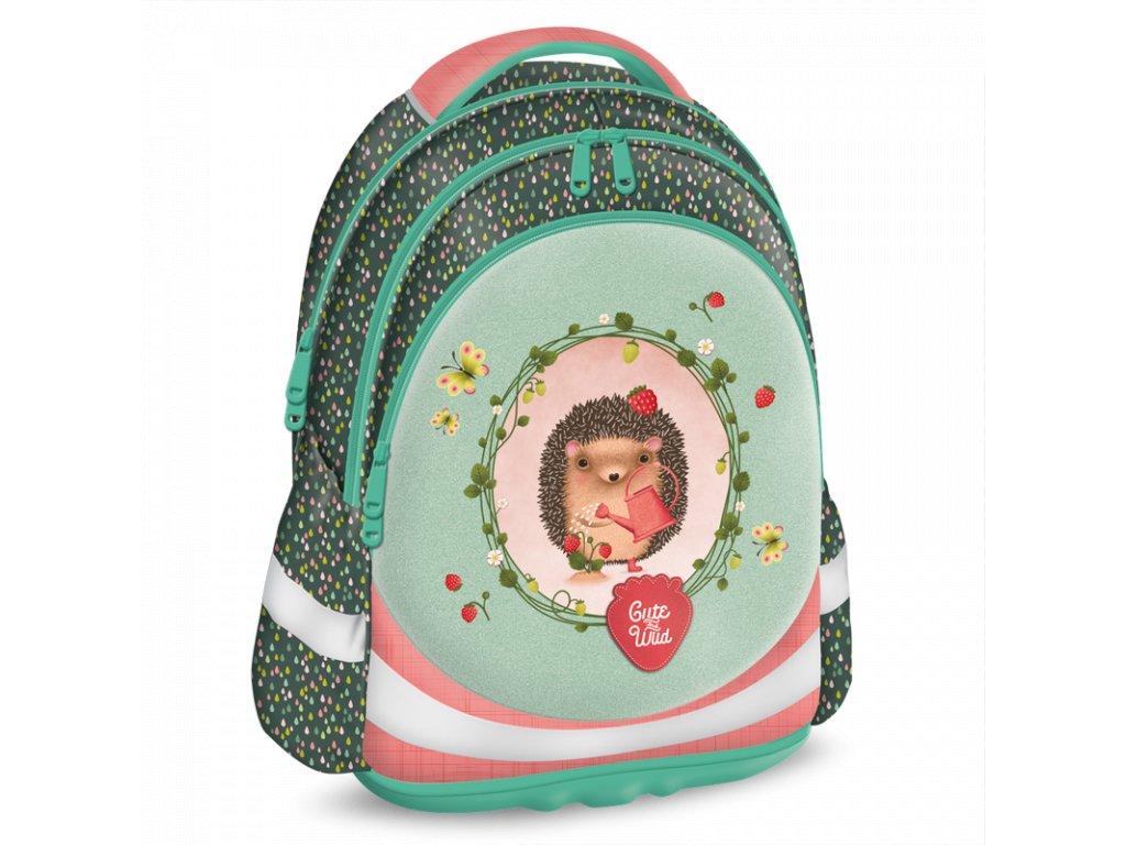 Ars Una školní batoh pro prvňáčky - Cute and Wild