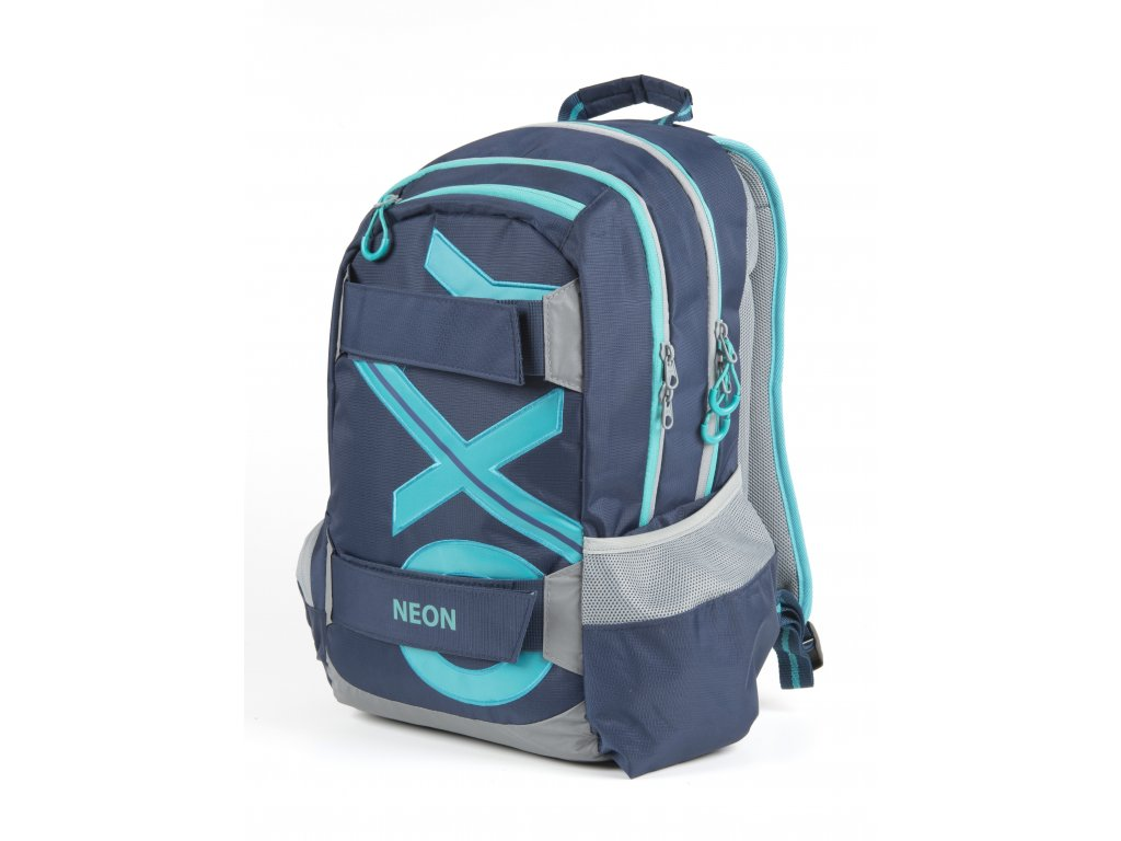 Studentský batoh OXY Sport BLUE LINE Tyrkys - www.e-prvnacek.cz 13c117c80c