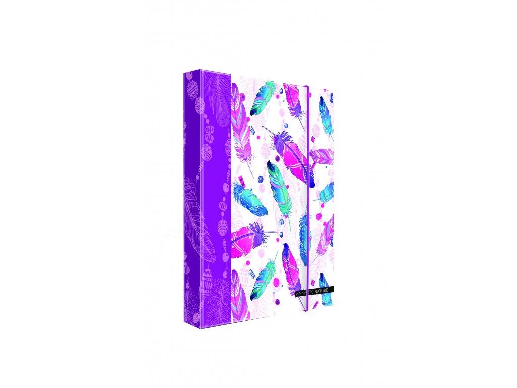 5 69618 Heftbox A4 A5 feather4b