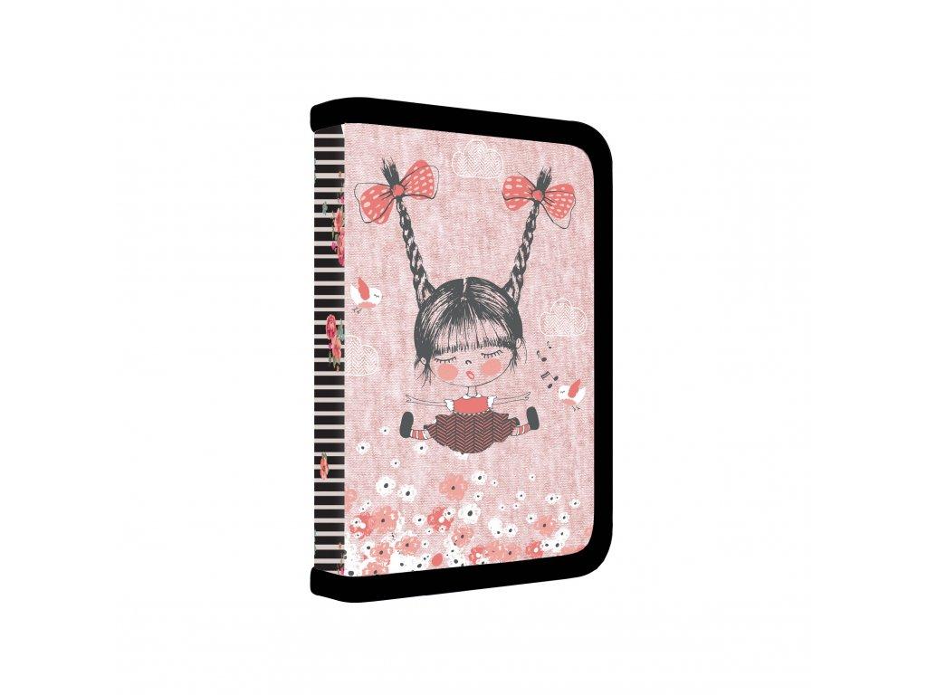 7 88818 karton pp dolly18 pencil case 1 zippers