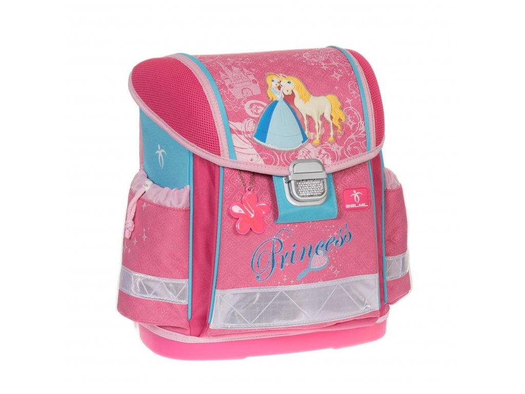 Školní aktovka BelMil - Princess Time - www.e-prvnacek.cz f4f1a1db5e