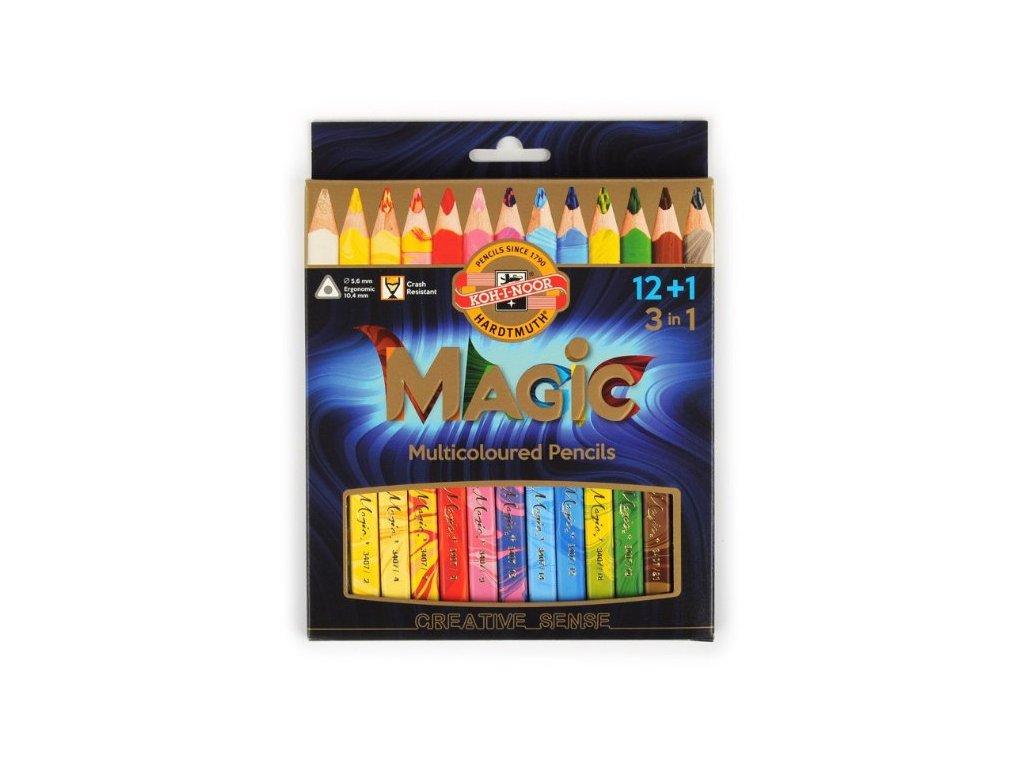 Sada pastelek Koh-I-Noor Magic (12+1 ks)