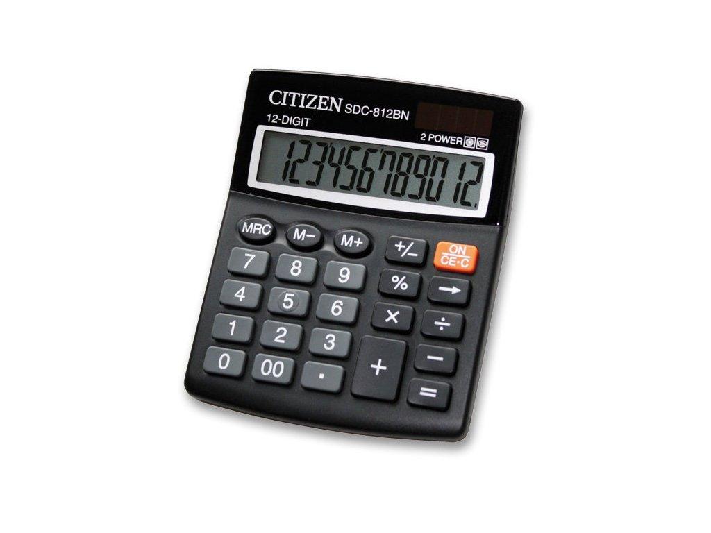Stolní kalkulátor Citizen SDC-812BN
