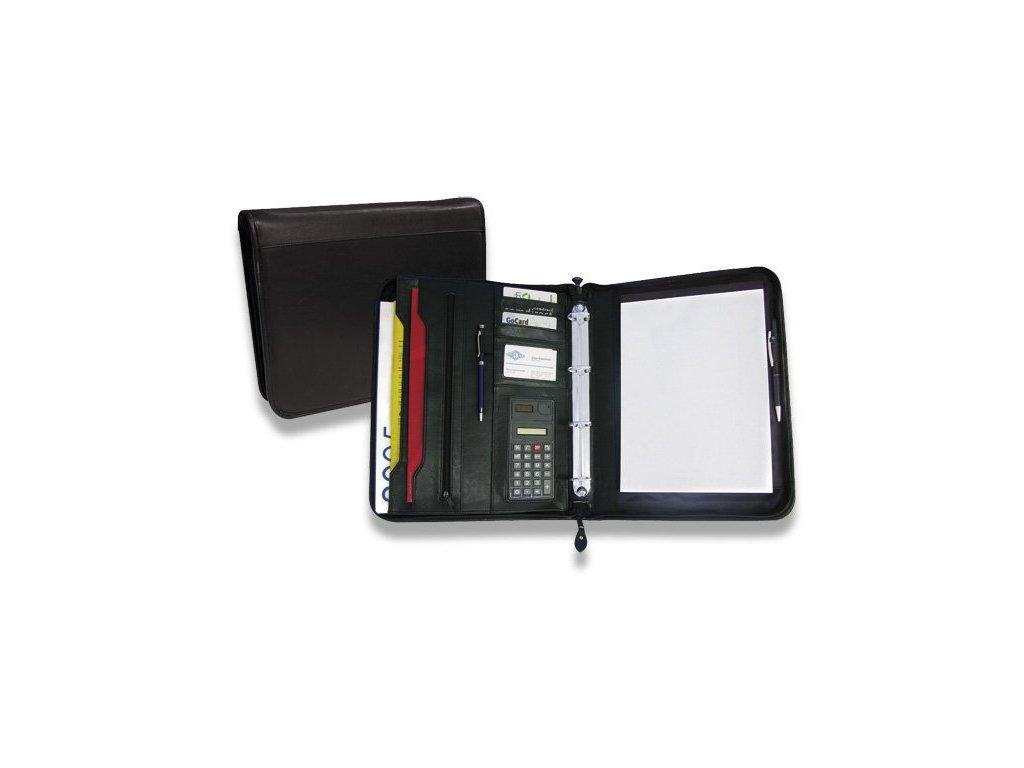 Portfolio s kalkulátorem - rozměr 285 x 360 x 55 mm