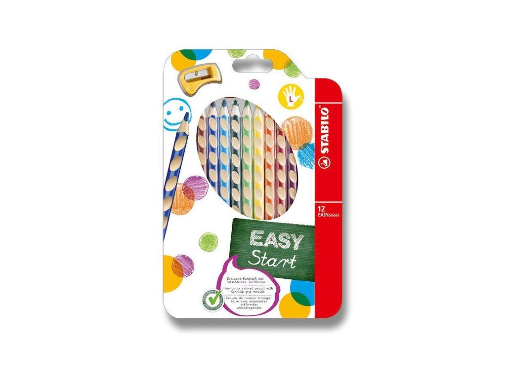 Pastelky Stabilo EASYcolors - 12 barev