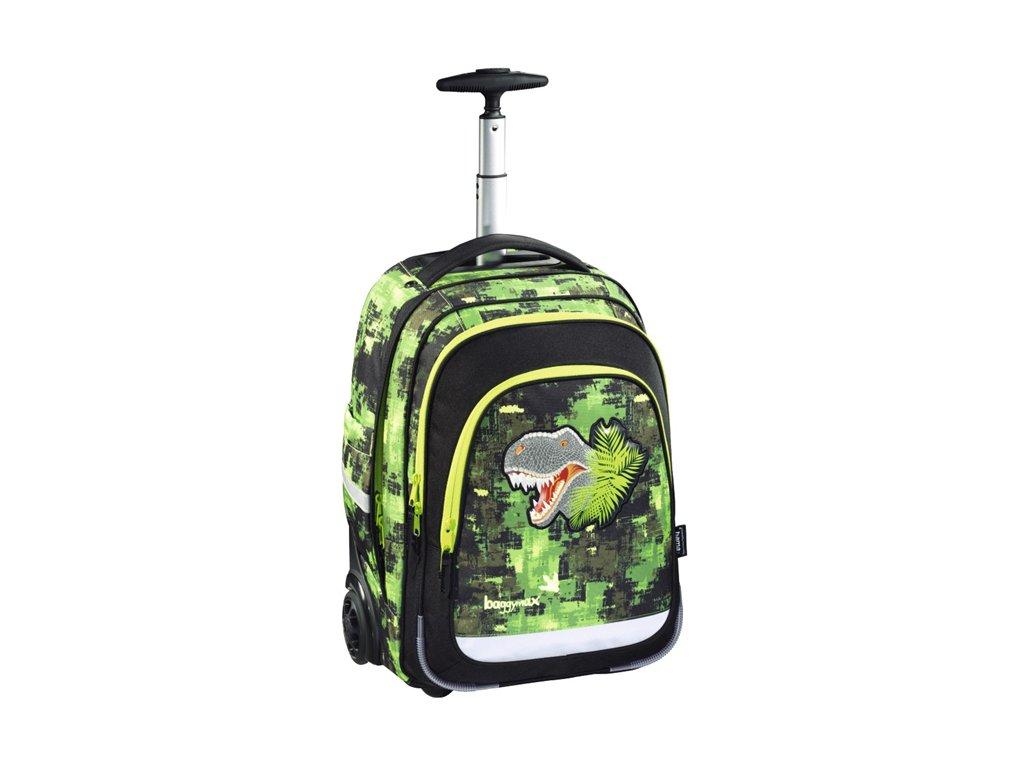 Školní batoh na kolečkách Baggymax Dino  + OŘEZÁVÁTKO MAPED CROC CROC INNOVATION