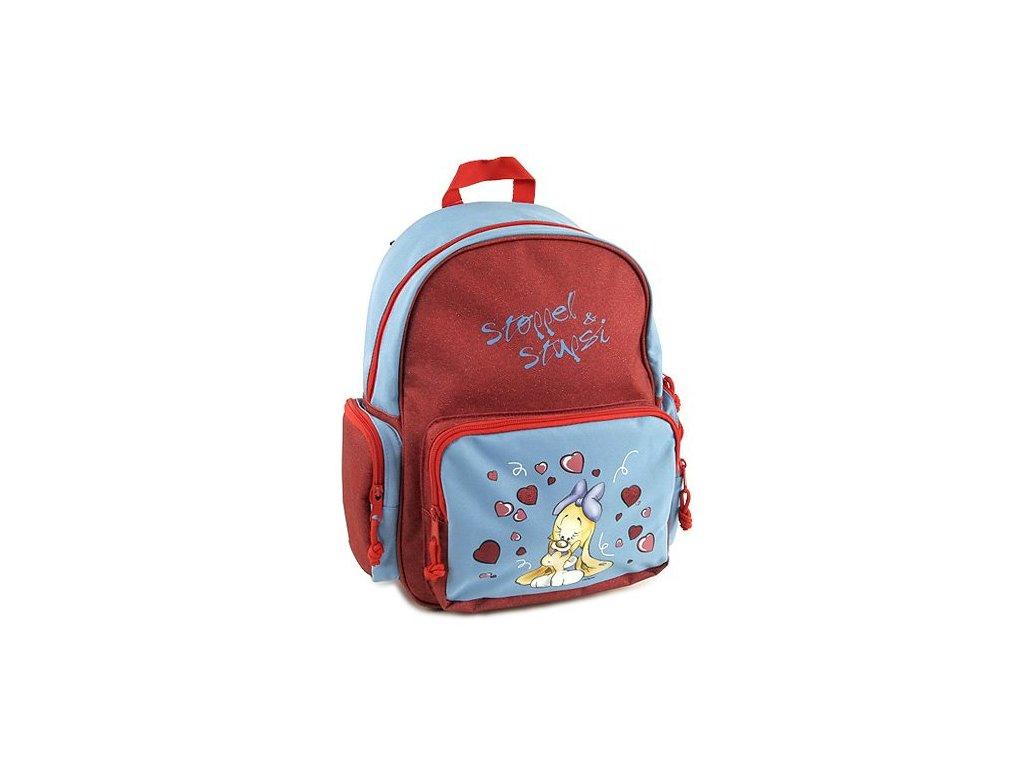 Dětský batoh Stoppel červený