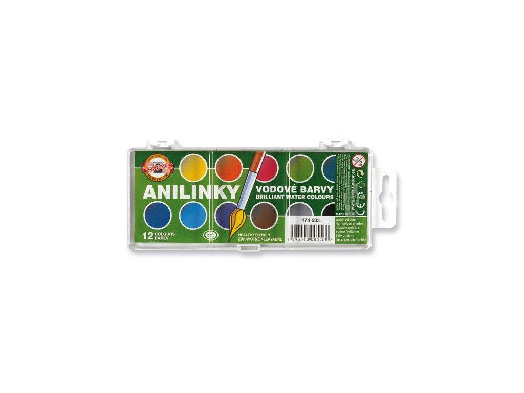 Anilinové barvy - anilinky