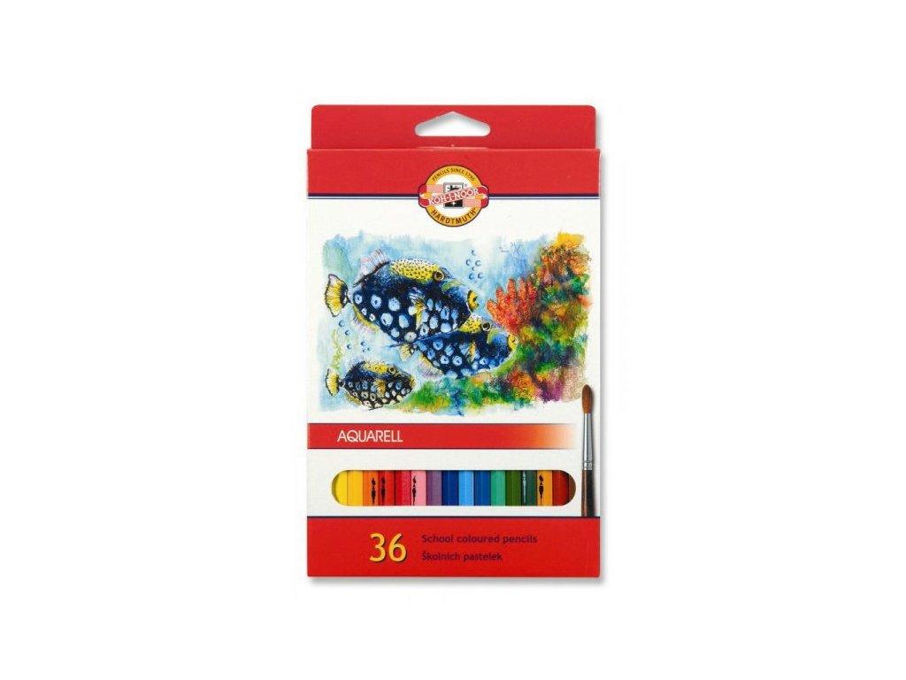 Aquarelové pastelky Ryby - Kohinoor