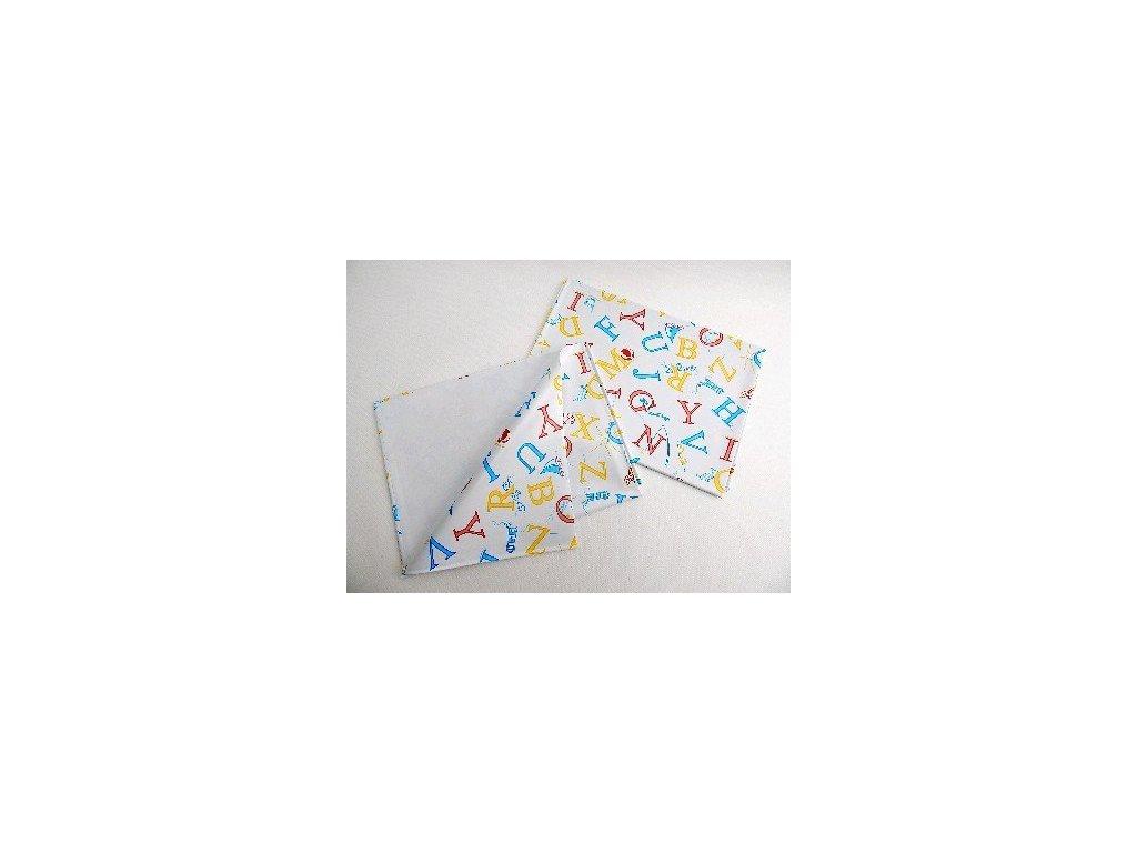 Ubrus PVC 65 x 50 písmenka