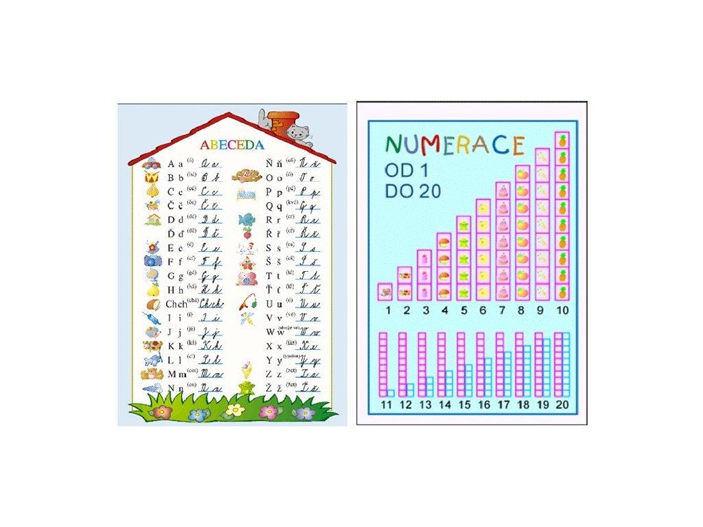 tabulka abeceda numerace a4~max