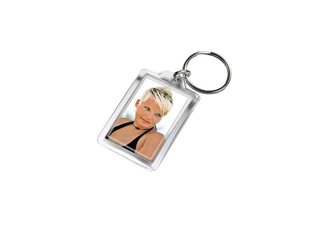 Akrylový přívěšek na klíče (na fotku) malý