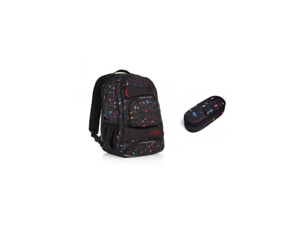 Studentský batoh Topgal HIT 885 A - Black SET SMALL - www.e-prvnacek.cz 78f7377007