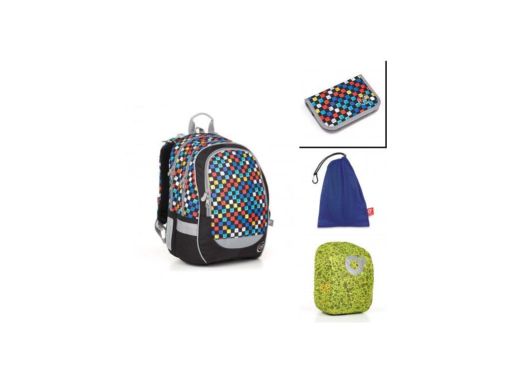 Školní batoh Topgal CODA 18020 B SET LARGE