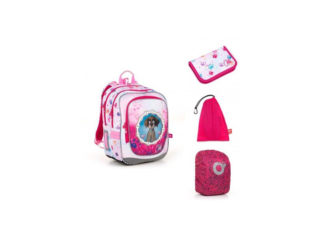Školní batoh Topgal ENDY 18017 G SET LARGE