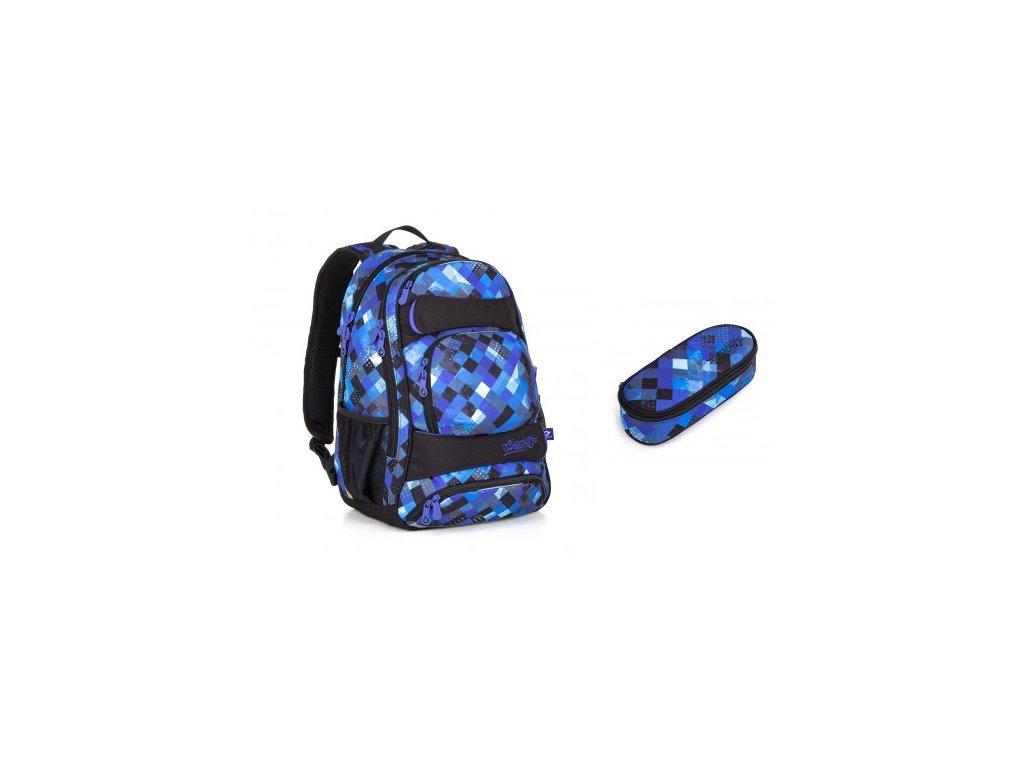 Studentský batoh Topgal YUMI 18036 B SET SMALL