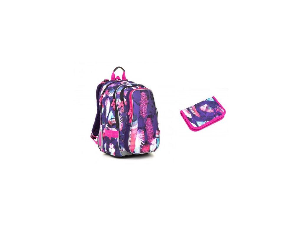 Školní batoh Topgal LYNN 18009 G SET SMALL