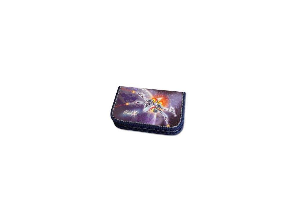 Školní penál 1-klopa Emipo Galaxy