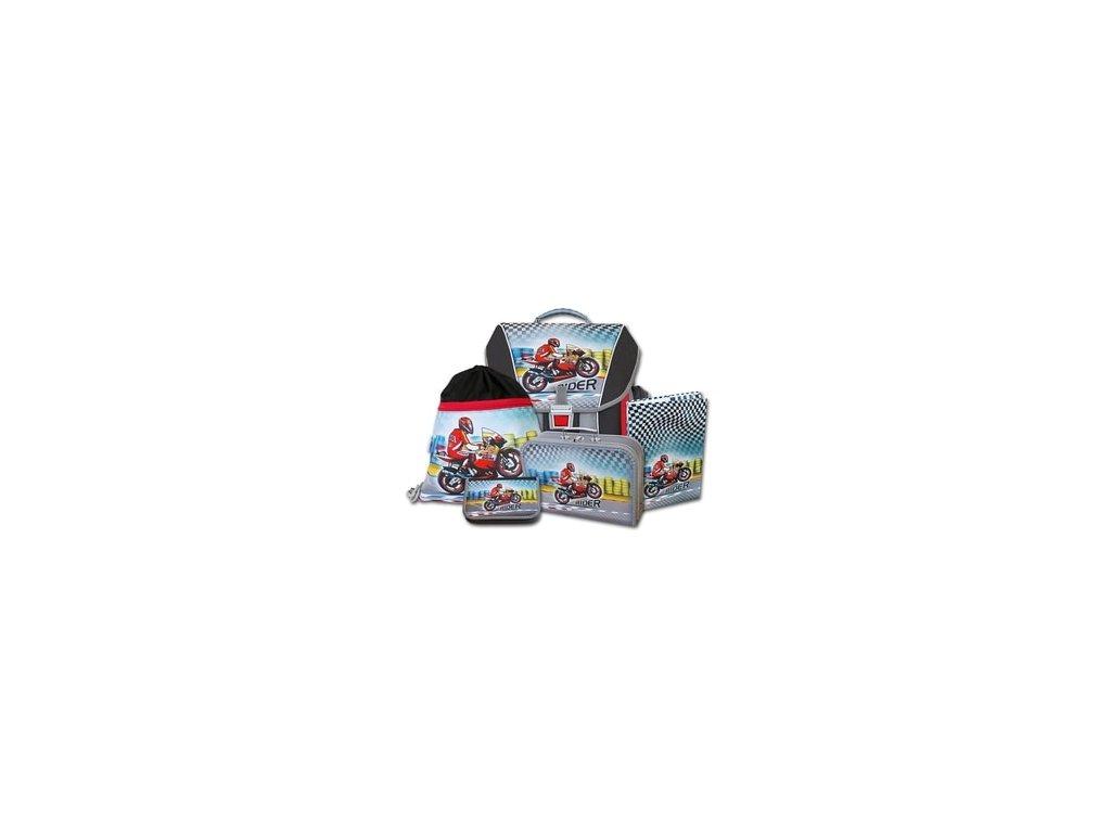 Školní batohový set Emipo Rider 5-dílný