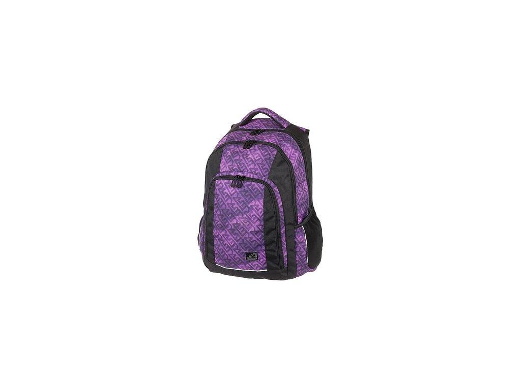 Studentský batoh Walker HAZE Violet  + Gumovací pero Frixion Zdarma
