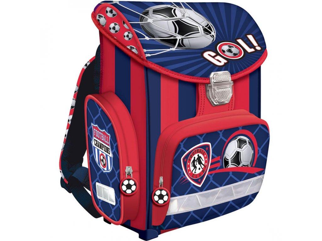 Školní batoh Premium - Football + sáček na přezuvky - www.e-prvnacek.cz 7f9bcf71a6