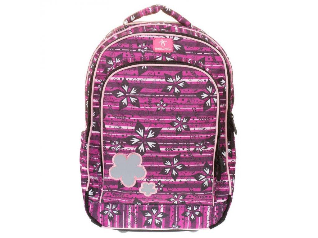 BelMil školní batoh od druhé třídy Crazy Flower - www.e-prvnacek.cz 4751a03cbe