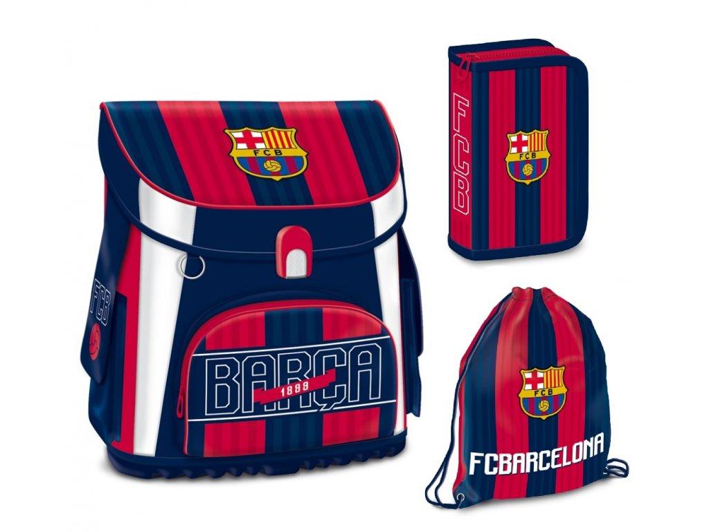 Školní aktovka pro prvňáčky set 3 díly Ars Una - FC Barcelona 18 ... e43f85b309