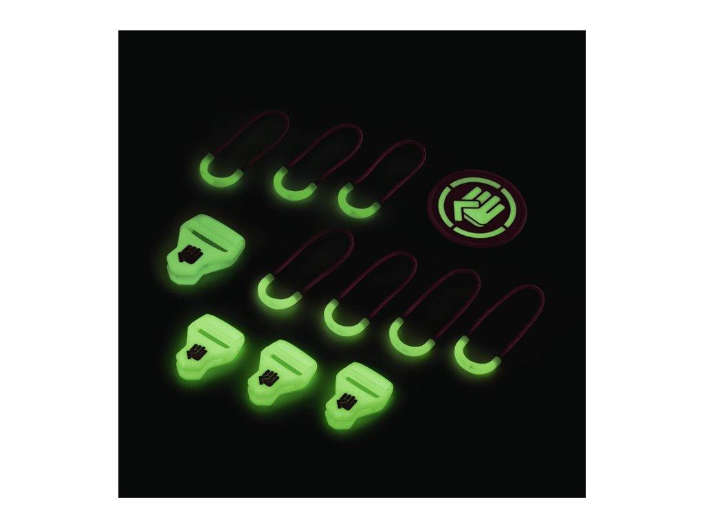 CoocaZoo MatchPatch Special doplňková sada, Glow Pink