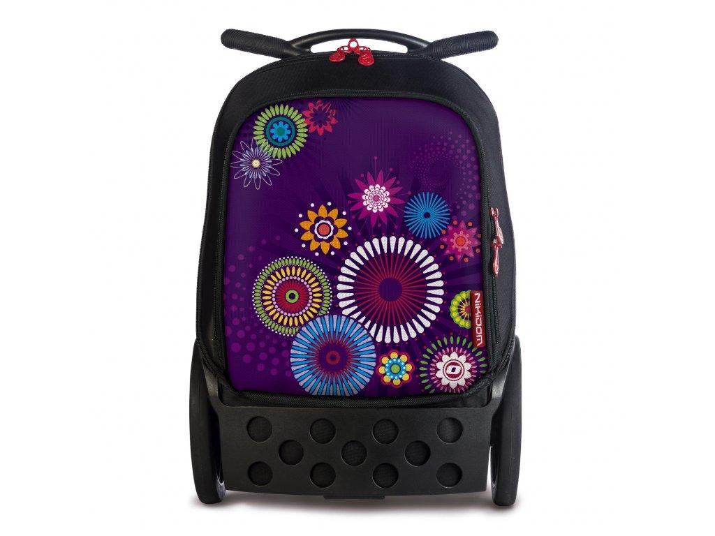 Školní taška na kolečkách Nikidom Roller XL Mandala + DÁREKSportovní vak Nikidom  Roller Sportsbag 588ae2da25