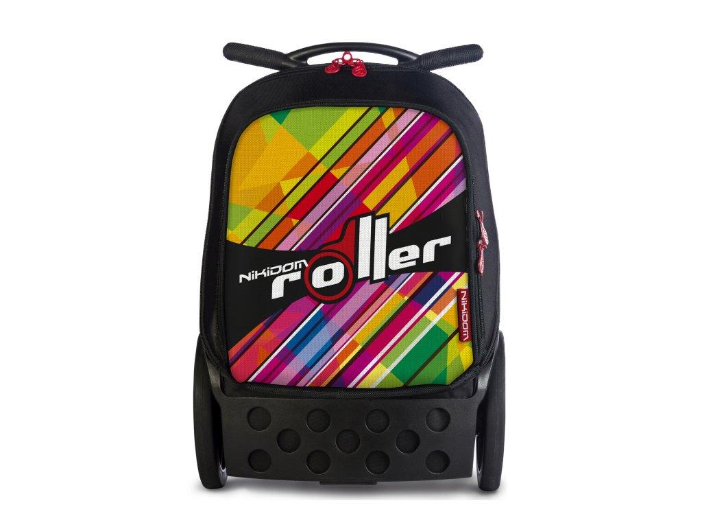 Školní taška na kolečkách Nikidom Roller XL Kaleido + DÁREK Sportovní vak Nikidom  Roller Sportsbag 579e85d6e4