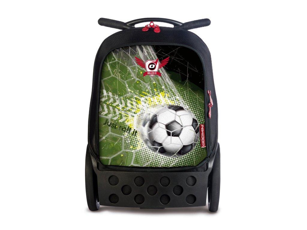 Školní taška na kolečkách Nikidom Roller Goal  + Sportovní vak Nikidom Roller Sportsbag